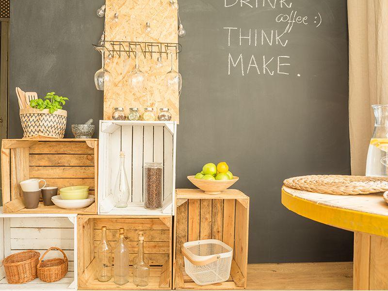 Idee fai da te per arredare casa con materiali di riciclo for Arredare casa fai da te