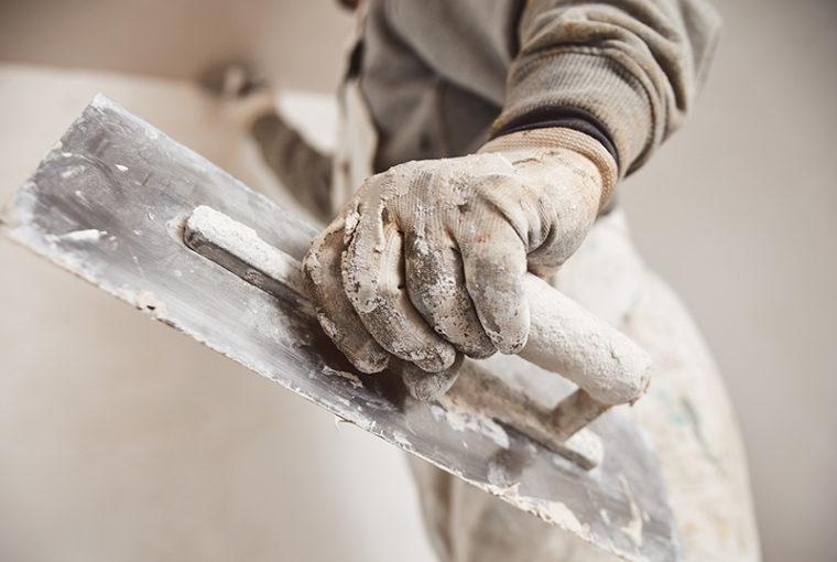 stuccare una parete